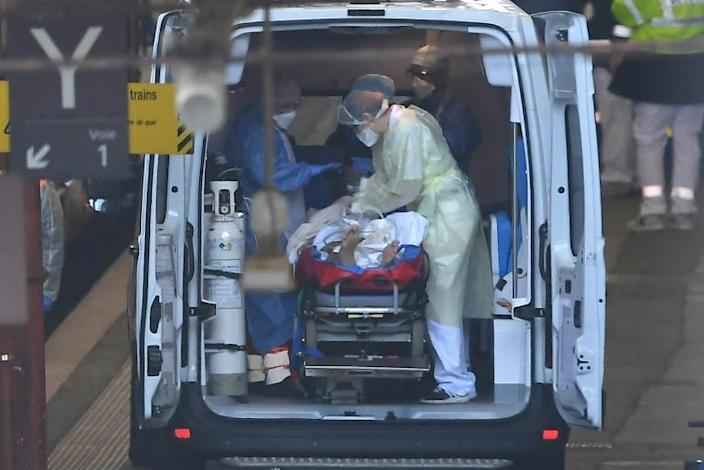 Francec has over 11,500 coronavirus patients in hospital, of whom more than 2,800 are in critical care (AFP Photo/Patrick HERTZOG)