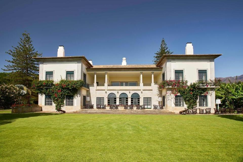 """<p>Set in beautiful botanical gardens in Funchal's chic seaside suburb of Sao Martinho, <a href=""""https://go.redirectingat.com?id=127X1599956&url=https%3A%2F%2Fwww.booking.com%2Fhotel%2Fpt%2Festalagem-quinta-da-casa-branca.en-gb.html%3Faid%3D1922306%26label%3Dmadeira-hotels&sref=https%3A%2F%2Fwww.goodhousekeeping.com%2Fuk%2Flifestyle%2Ftravel%2Fg37065833%2Fmadeira-hotels%2F"""" rel=""""nofollow noopener"""" target=""""_blank"""" data-ylk=""""slk:Quinta Da Casa Branca"""" class=""""link rapid-noclick-resp"""">Quinta Da Casa Branca</a> is a stylish boutique hotel in the grounds of an old Manor House, which offers five luxury suites of its own. Bedrooms have private terraces and huge windows offering panoramic views of the gardens, where you'll find an amazing array of fragrant and exotic plants including Indian rubber trees, banana trees, olive trees, African tulip trees and Norfolk pines. </p><p>Plus, there's a gorgeous outdoor swimming pool surrounded by bougainvillaea, a health club, gym and spa, and a smart restaurant in the Manor House serving sophisticated Portuguese cuisine, as well as a less formal Garden Pavilion restaurant for breakfast, light lunches and afternoon tea.</p><a class=""""link rapid-noclick-resp"""" href=""""https://go.redirectingat.com?id=127X1599956&url=https%3A%2F%2Fwww.booking.com%2Fhotel%2Fpt%2Festalagem-quinta-da-casa-branca.en-gb.html%3Faid%3D1922306%26label%3Dmadeira-hotels&sref=https%3A%2F%2Fwww.goodhousekeeping.com%2Fuk%2Flifestyle%2Ftravel%2Fg37065833%2Fmadeira-hotels%2F"""" rel=""""nofollow noopener"""" target=""""_blank"""" data-ylk=""""slk:CHECK AVAILABILITY"""">CHECK AVAILABILITY</a>"""