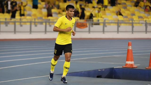 Safawi Rasid, Malaysia v Tajikistan, International Friendly, 9 Nov 2019