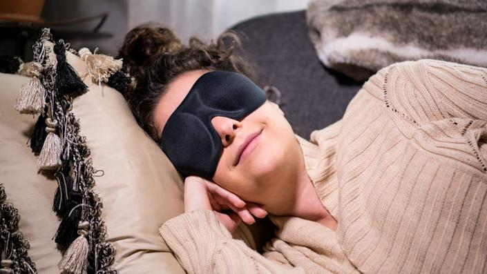 An eye mask to get some shut-eye during the day