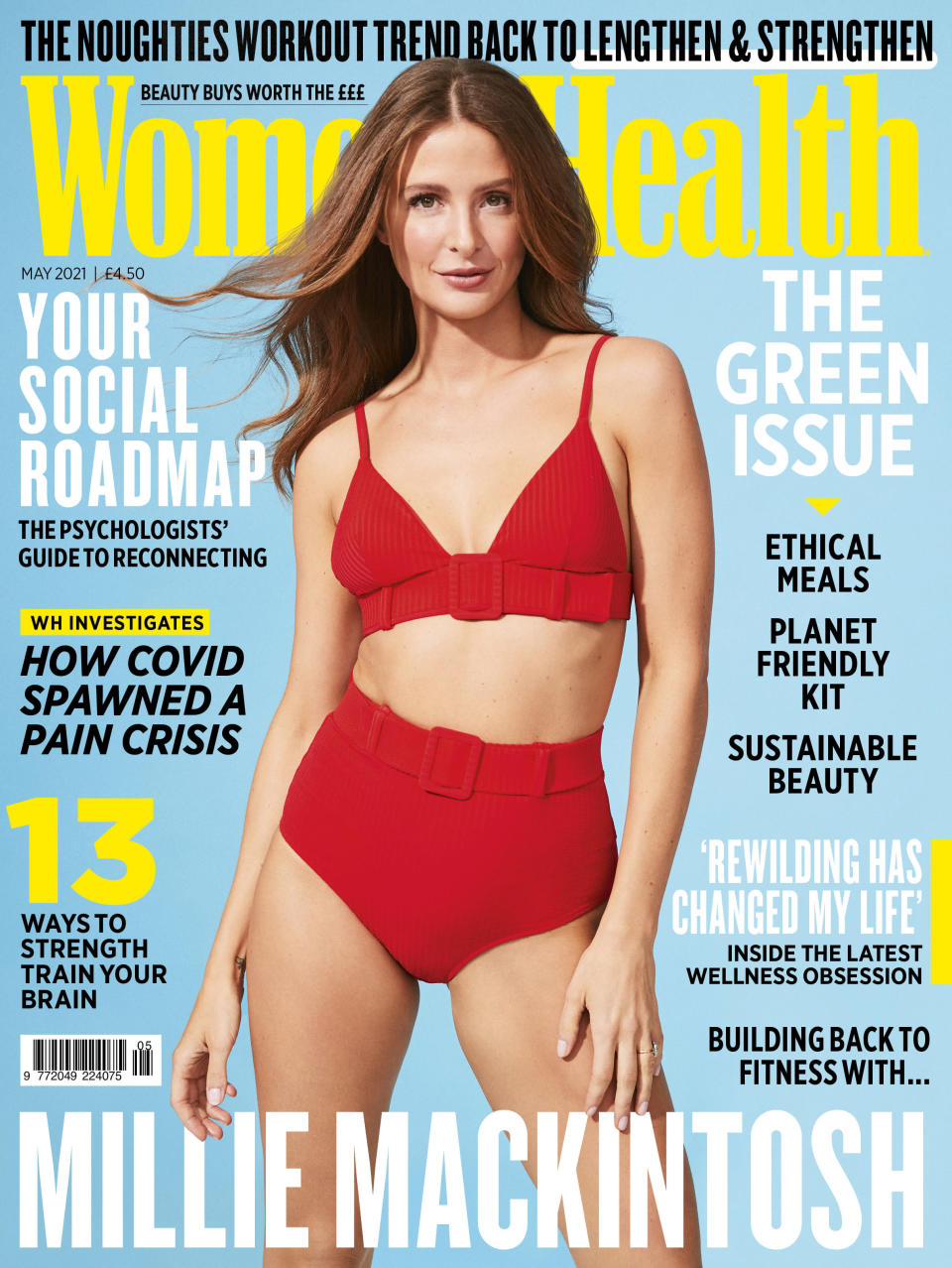 Millie Mackintosh is the May cover star for Women's Health (Ian Harrison / Women's Health UK)