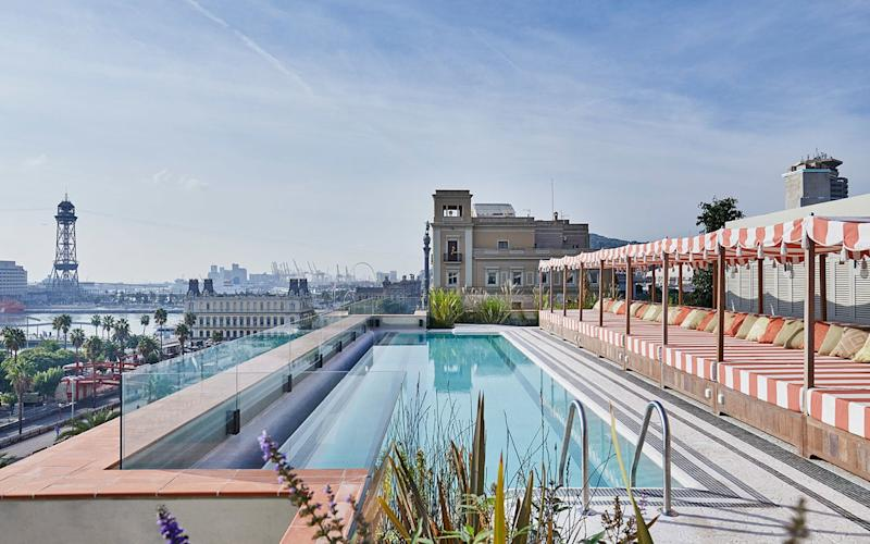 Soho House Barcelona is in the city's medieval heart, the 'Gothic Quarter'.