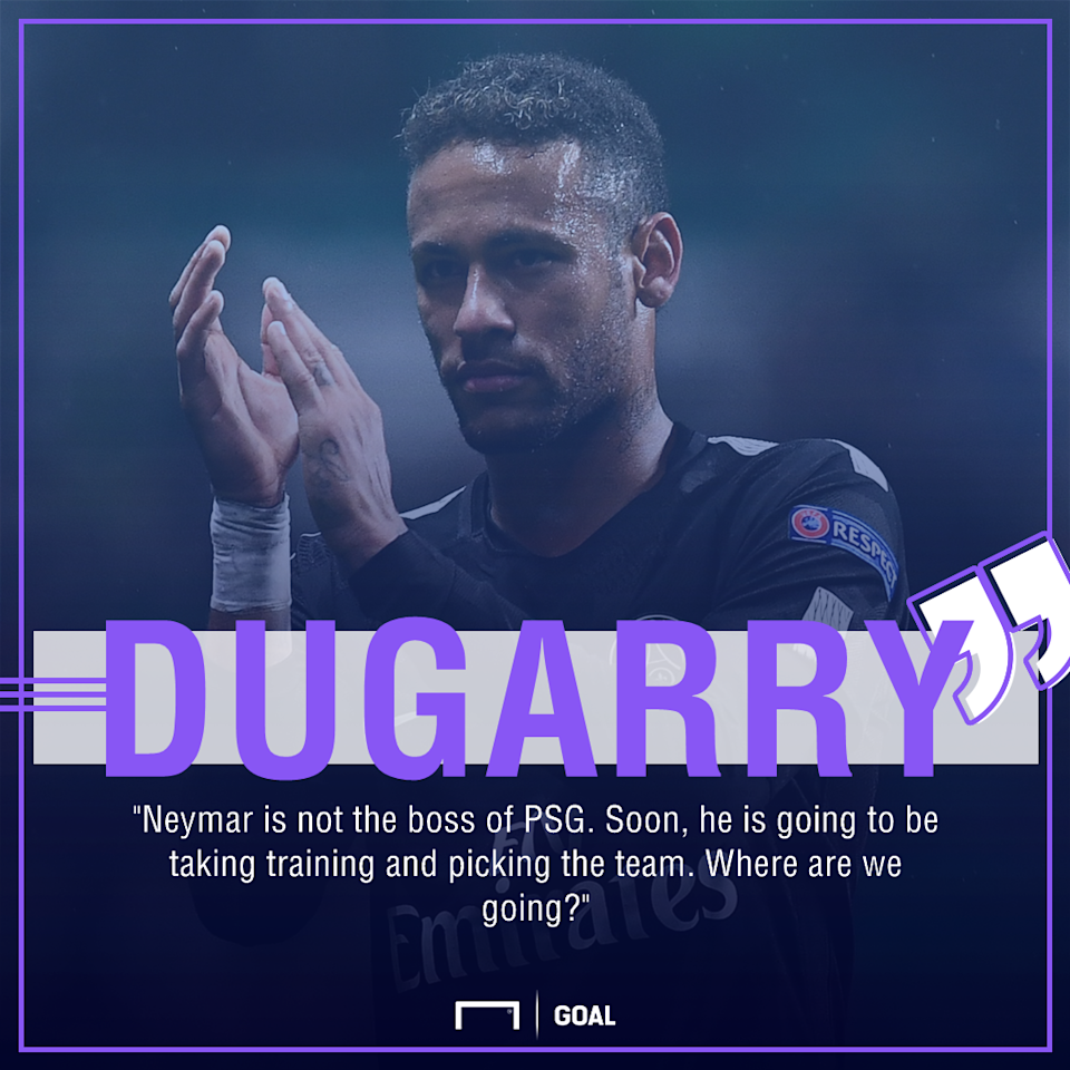The former France international has warned the Brazilian striker that he needs to earn the right to be considered squad leader at Parc des Princes