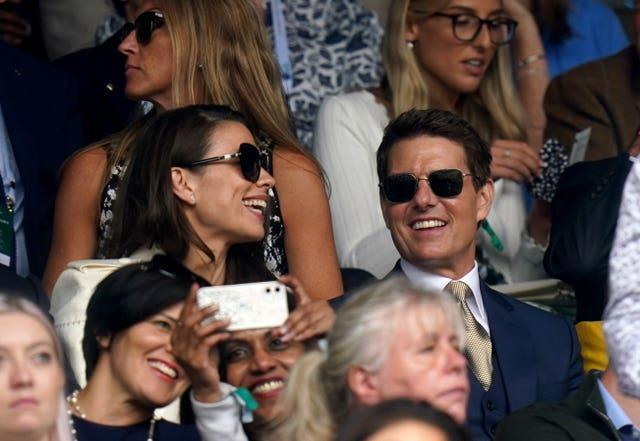 Actor Tom Cruise and actress Hayley Atwell
