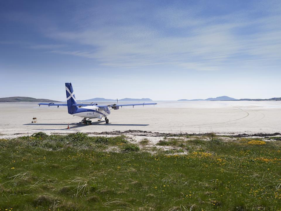 Barra offers white-sand beachesEwen Weatherspoon