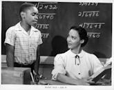 <p>Although Dandridge had worked in film for years, she didn't land a starring film role until 1953, when she appeared in <em>Bright Road </em>as teacher Jane Richards. </p>