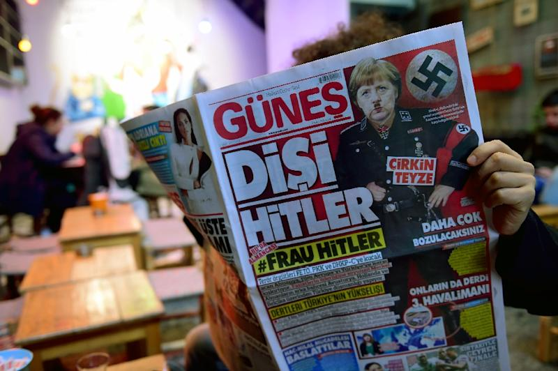 Relations between Germany and Turkey have been strained in recent months
