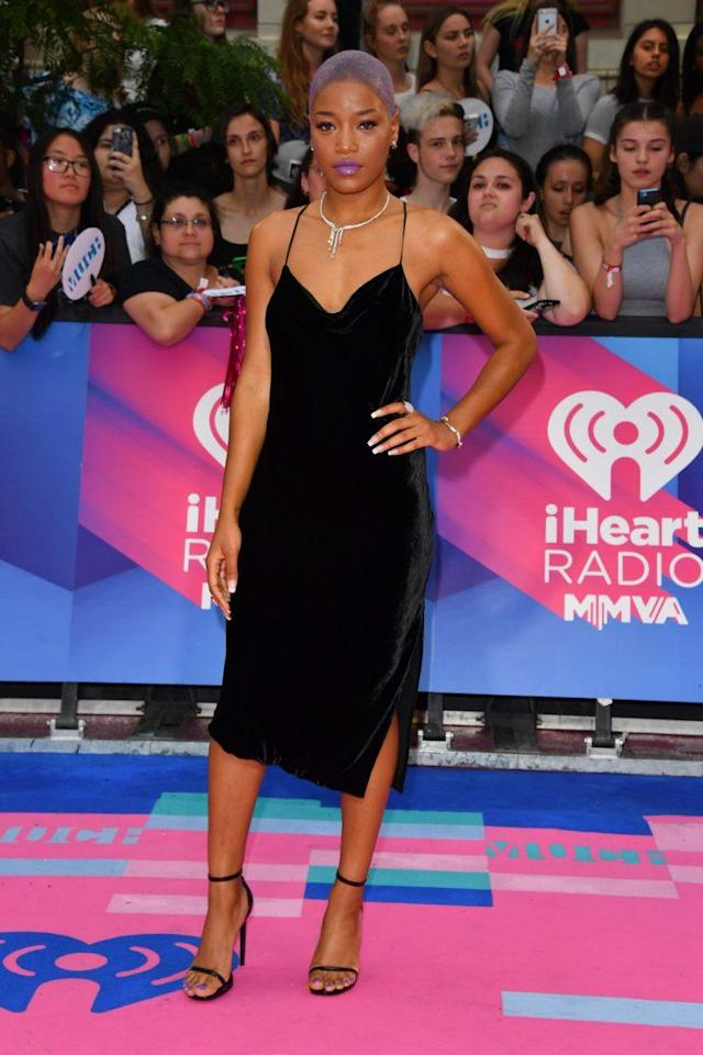 Keke Palmer attended the 2017 iHeartRadio Much Music Video Awards. (Photo: Getty Images)