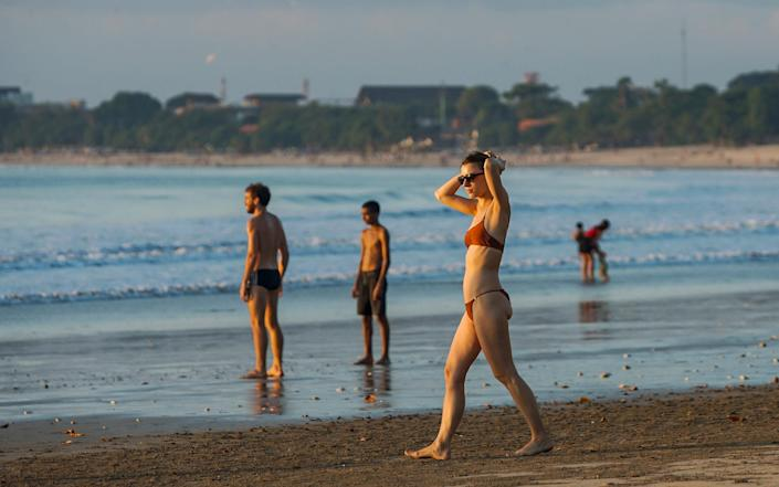 Foreign tourists won't be allowed to visit Bali for the rest of 2020 due to coronavirus concerns, its governor said on Monday  - Barcroft Media/Wawan Kurniawan / Opn Images/ Barcroft Studios / Future Publishing