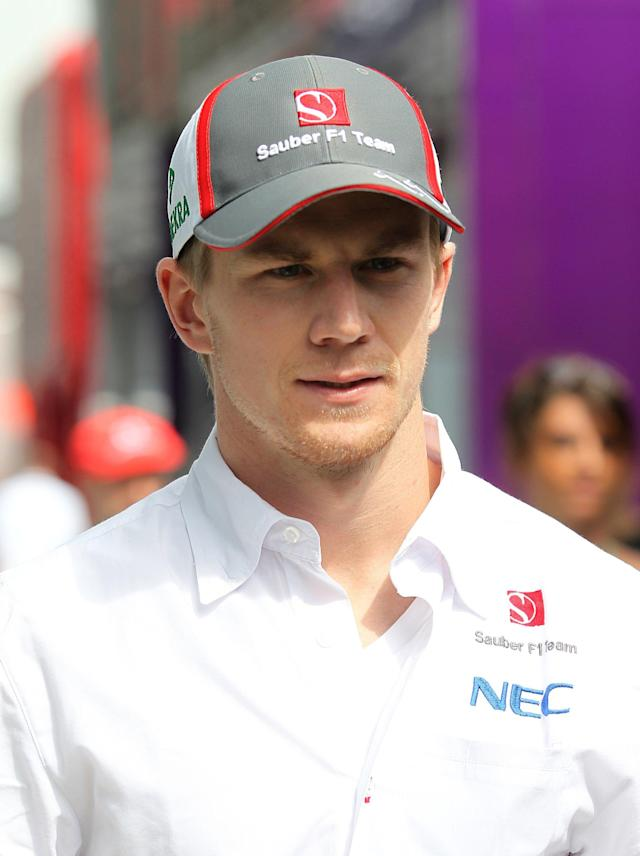 Sauber's Nico Hulkenberg during the Italian Grand Prix and the Autodromo Nazionale Monza, Monza, Italy.