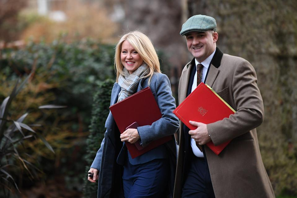 NRG members Esther McVey and Jake Berry (PA)