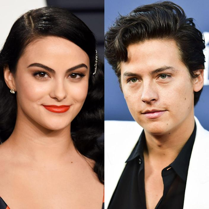 """<p>Before Camila Mendes met Cole Sprouse on the set of The CW's hit show <em>Riverdale</em>, she ran into him on campus at New York University as a student (the Sprouse twins graduated from NYU's Gallatin School of Individualized Study in 2015). Her first impression of her future co-star wasn't the most positive, though. """"He was a weirdo! He had really long hair down to his butt cheeks."""" Mendes told <a href=""""http://officemagazine.net/welcome-riverdale"""" rel=""""nofollow noopener"""" target=""""_blank"""" data-ylk=""""slk:Office Magazine"""" class=""""link rapid-noclick-resp""""><em>Office Magazine</em></a> of her co-star. """"He was really shy too. I would see him at parties sometimes and I always kind of randomly talked to his brother [Dylan] but I never got a chance to talk to him because he was more to himself.""""</p>"""