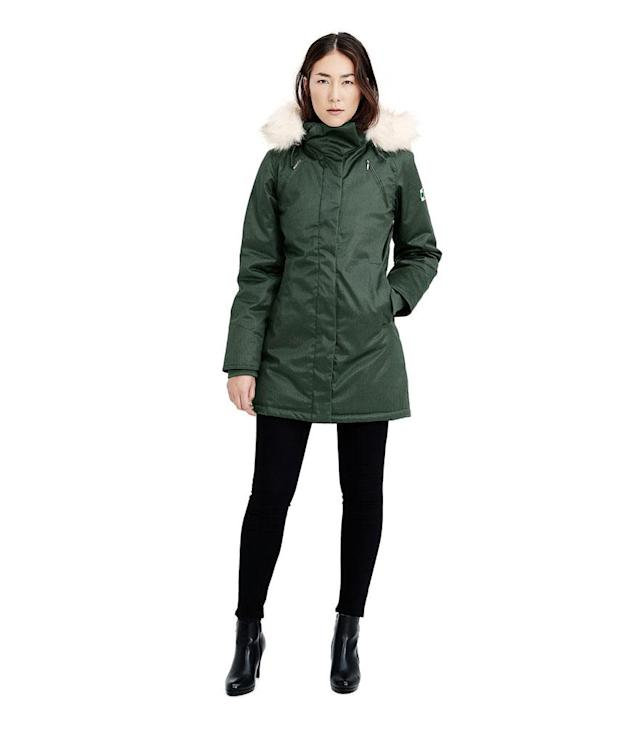 "<p>This warm, water-resistant parka made from a durable blend of hemp and cotton comes from an Amsterdam-based company that's committed to compassion — for animals and workers alike. Even better, everything is currently on sale. (<a href=""https://www.hoodlamb.com/collections/aw17/products/aw17-ladies-long-hoodlamb-coat"" rel=""nofollow noopener"" target=""_blank"" data-ylk=""slk:$370, HoodLamb"" class=""link rapid-noclick-resp"">$370, HoodLamb</a>) </p>"