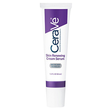 """<p><strong>CeraVe</strong></p><p>ulta.com</p><p><strong>$18.49</strong></p><p><a href=""""https://go.redirectingat.com?id=74968X1596630&url=https%3A%2F%2Fwww.ulta.com%2Fskin-renewing-retinol-cream-serum-fine-lines-wrinkles%3FproductId%3DxlsImpprod12041693&sref=https%3A%2F%2Fwww.womenshealthmag.com%2Fbeauty%2Fg30852512%2Fbest-retinol-eye-cream%2F"""" rel=""""nofollow noopener"""" target=""""_blank"""" data-ylk=""""slk:Shop Now"""" class=""""link rapid-noclick-resp"""">Shop Now</a></p><p>Retinol has a bad rap for disrupting your skin's protective barrier but this serum helps to negate that with its ratio of three ceramides (a major moisturizer) to one part retinol. On top of that it's fragrance-free and non-comedogenic, making it the ideal choice for those with sensitive skin. </p>"""