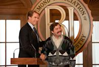 """Will Ferrell and Zach Galifianakis in Warner Bros. Pictures' """"The Campaign"""" - 2012"""