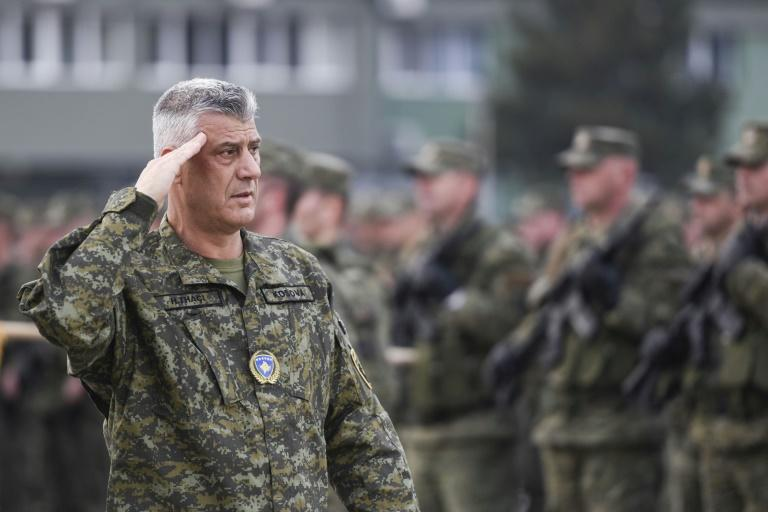 Prosecutors accuse Kosovo President Hashim Thaci of trying to obstruct the work of the tribunal (AFP Photo/Armend NIMANI)