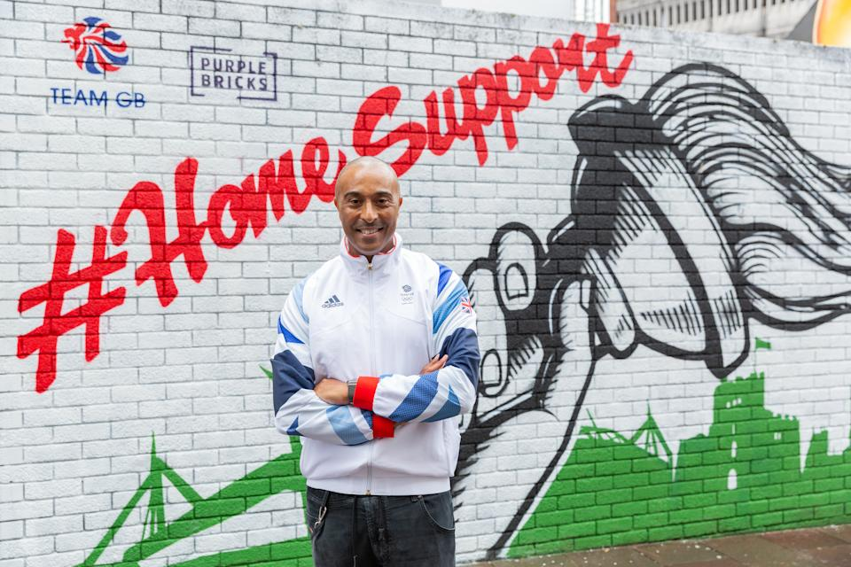 Jackson, 54, spoke after unveiling a Home Support mural in his home town of Cardiff