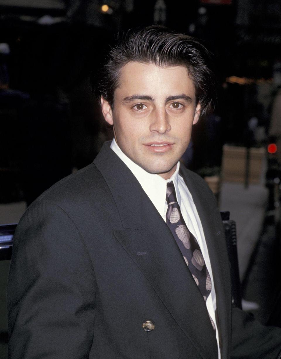 "<p>We were first introduced to Matt Leblanc's signature dark hair on <em>Friends, </em>when he starred as Joey Tribbiani. Little did we know he died his hair. ""I think it was the second season of <em>Friends</em>—way back then—that I started getting gray hair on the sides, so they started to dye it,"" Leblanc said on <em><a href=""https://www.youtube.com/watch?v=H0lWuxoYsxY"" rel=""nofollow noopener"" target=""_blank"" data-ylk=""slk:The Late Late Show with James Corden"" class=""link rapid-noclick-resp"">The Late Late Show with James Corden</a></em>. </p>"