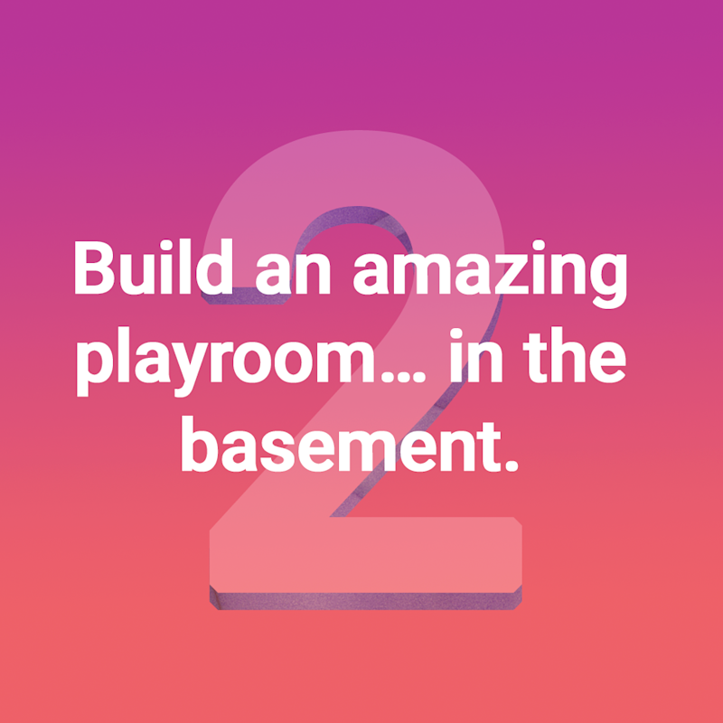 Playroom quote