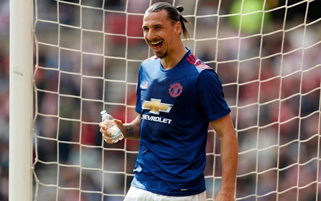 <span>Zlatan Ibrahimovic is in a rich vein of form</span>