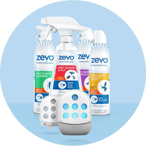 Don't Bug Out! Zevo's Line of Insect Sprays and Traps Offers Peace of Mind Heading Into Anticipated Summer Insect Spike