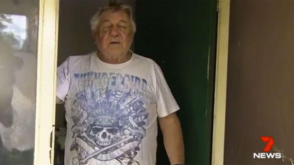 An 80-year-old man will undergo surgery after he was bashed by thugs with a hockey stick in his own home. Source: 7 News
