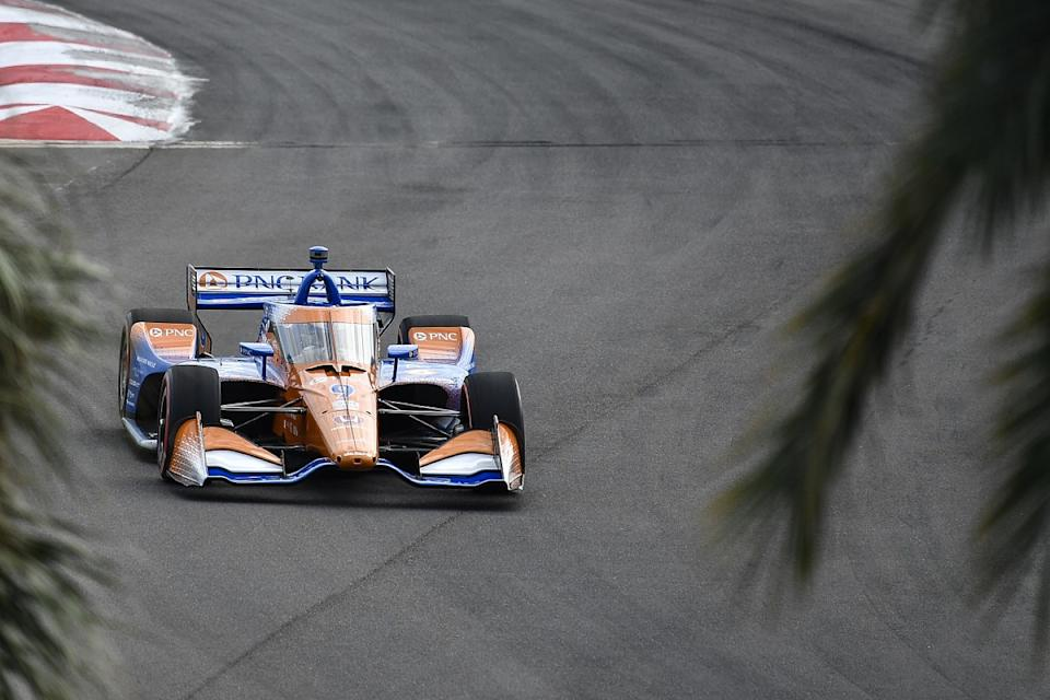 Newgarden wins in St Petersburg as Dixon claims title