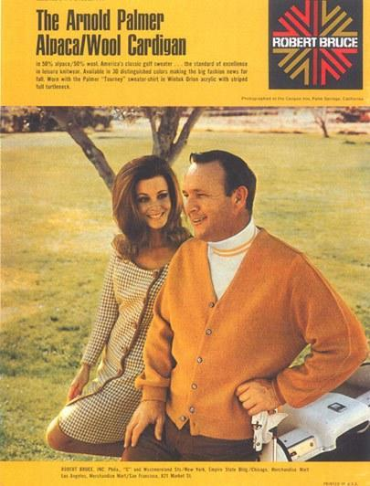 The Palmer cardigan is still a classic fashion statement.