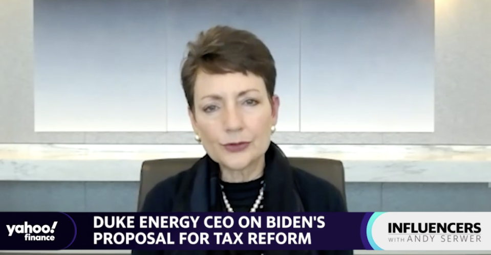 Lynn Good, Chair, President, and CEO of Duke Energy, speaks with Yahoo Finance Editor-in-Chief Andy Serwer on an episode of