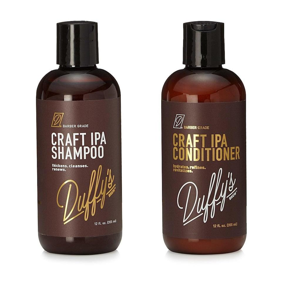 <p>Beer lovers, the <span>Craft IPA Beer Shampoo & Conditioner</span> ($20) is for you. FYI, beer is actually very healthy for your hair.</p>