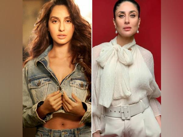 Nora Fatehi and Kareena Kapoor Khan (Image courtesy: Instagram)