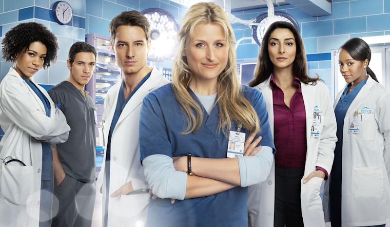 "Mamie Gummer in The CW's ""Emily Owens, M.D."""
