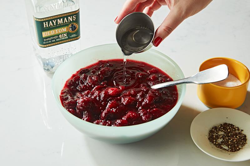Our Favorite Cranberry Sauce Is Spiked Cranberry Sauce