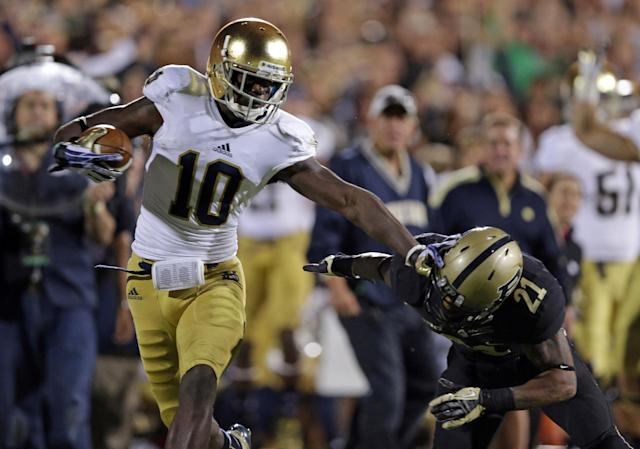 Three of four Notre Dame players investigated for academic fraud are starters