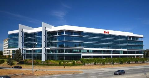 8x8 Selects New Company Headquarters in Campbell, Calif. Amidst Rapid Growth