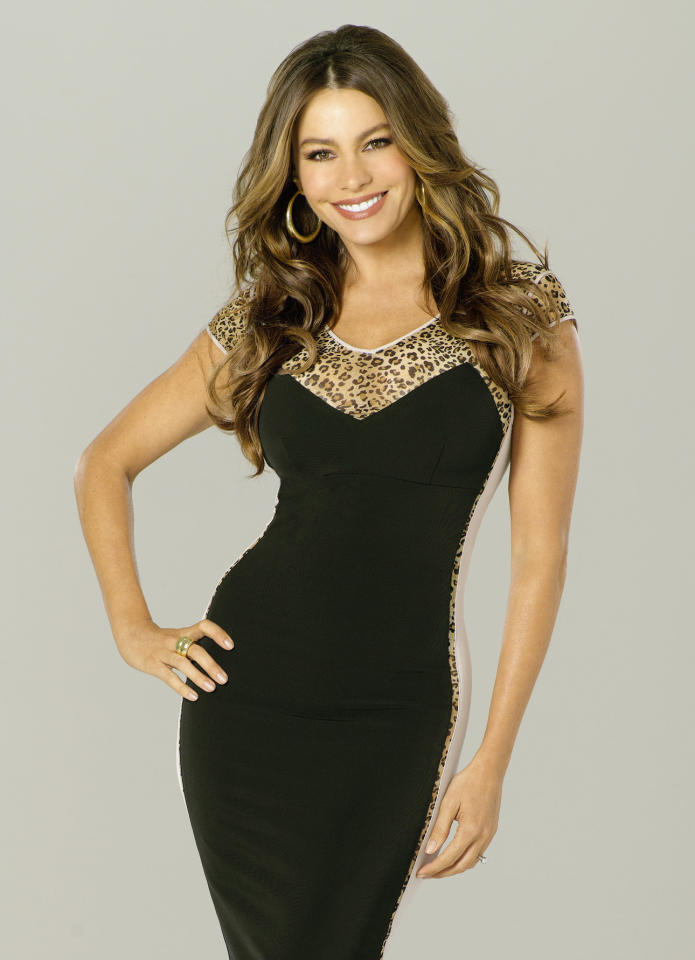 "Supporting Actress in a Comedy Series: Sofia Vergara, ""Modern Family"""