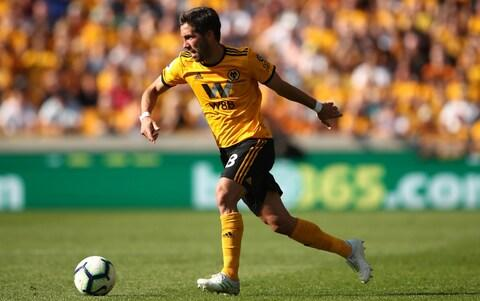 Joao Moutinho of Wolverhampton Wanderers during the Premier League match between Wolverhampton Wanderers and Brighton & Hove Albion - Credit: GETTY IMAGES