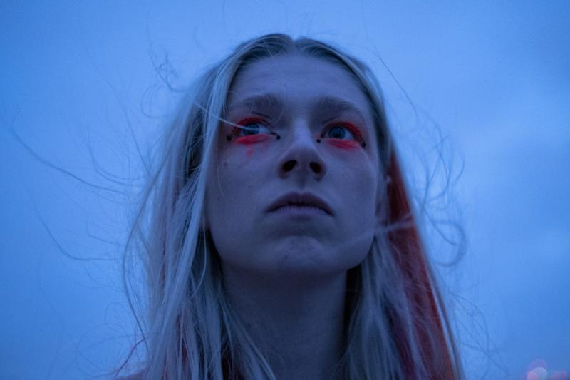 Hunter Schafer in Euphoria.