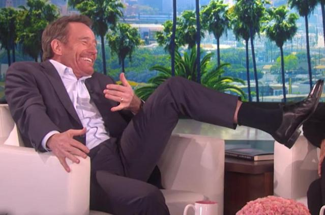 Bryan Cranston kept his wife's engagement ring in a really weird place while waiting to propose