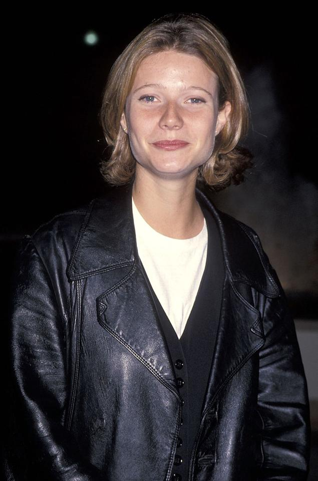 "<p>Just a year later, Paltrow was making her debut on the silver screen in <a href=""https://www.imdb.com/title/tt0106926/?ref_=nm_flmg_act_50"" target=""_blank""></a><em><a href=""https://www.imdb.com/title/tt0106926/?ref_=nm_flmg_act_50"" target=""_blank"">Flesh & Bone</a></em>, which starred Dennis Quaid and Meg Ryan.</p>"