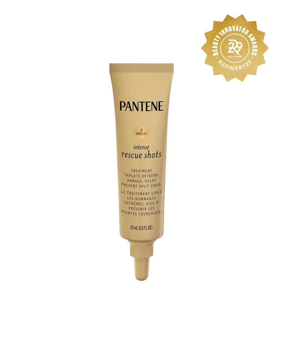 """<h2>Pantene Pro-V Intense Rescue Shot Hair Ampoules</h2> <br>When split ends and frizz are screaming SOS, take one of these Pantene shots to the head (literally). The intensive repair treatment will help revive damaged strands and make dull hair feel new again.<br><br><strong>Pantene</strong> Pantene Pro-V Intense Rescue Shots Ampoules, $, available at <a href=""""https://www.target.com/p/pantene-pro-v-intense-rescue-shots-ampoules-hair-treatment-0-5-fl-oz/-/A-75660992#locklink"""" rel=""""nofollow noopener"""" target=""""_blank"""" data-ylk=""""slk:Target"""" class=""""link rapid-noclick-resp"""">Target</a><br>"""