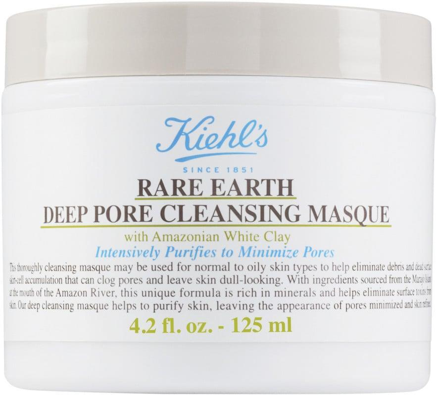 <p>Diminish acne and oily skin with the <span>Kiehl's Since 1851 Rare Earth Deep Pore Cleansing Mask</span> ($38). It is tough on pores with Amazonian White clay but calms the skin with oatmeal and aloe vera.</p>