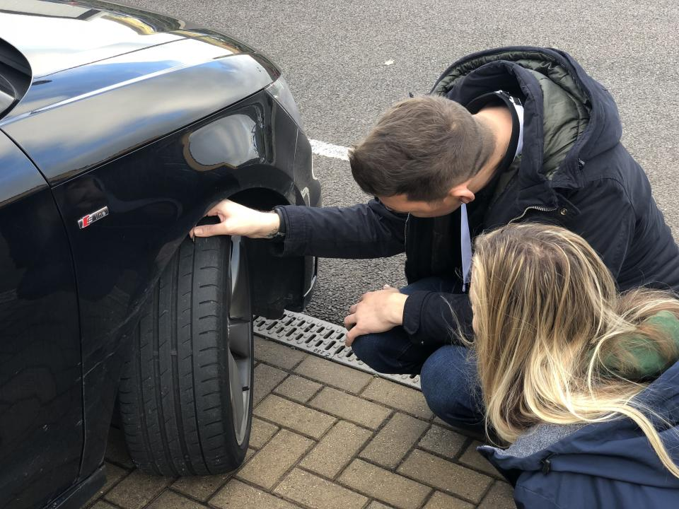Check your tyres