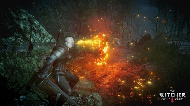 In 'The Witcher 3' the player is tasked with fighting both demons and humans. It is rated M.