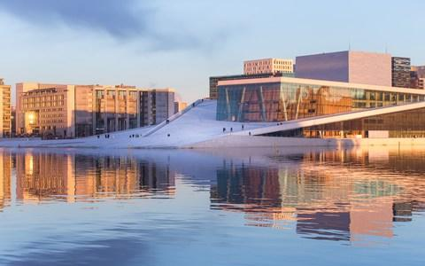 Oslo opera house - Credit: Getty