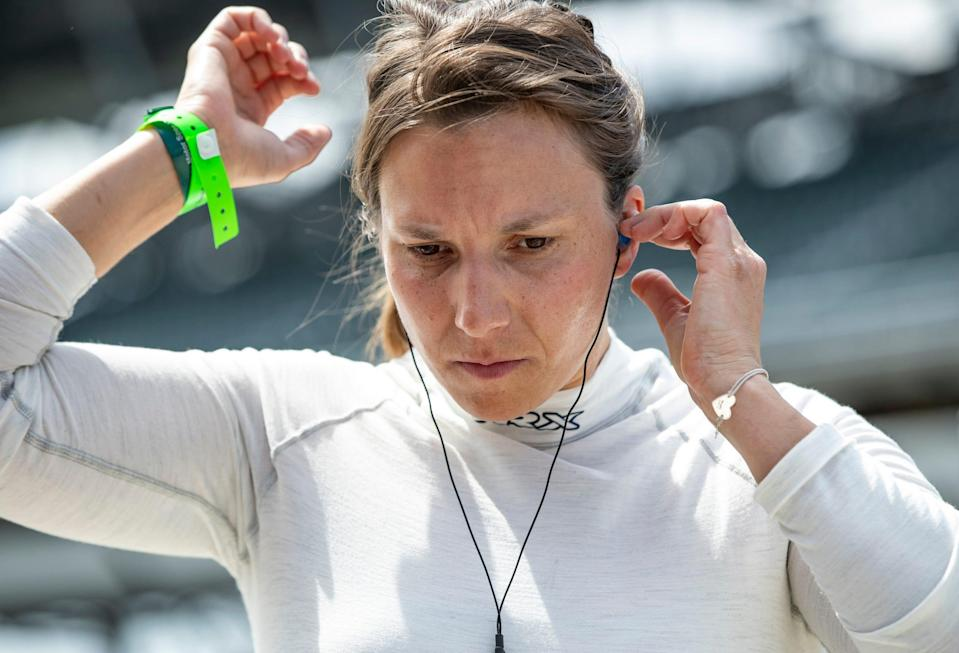 """""""When I was younger I didn't really have a role model that was female,"""" driver Simona De Silvestro said. """"So I was just really lucky that I knew what dream was and my goal was."""""""