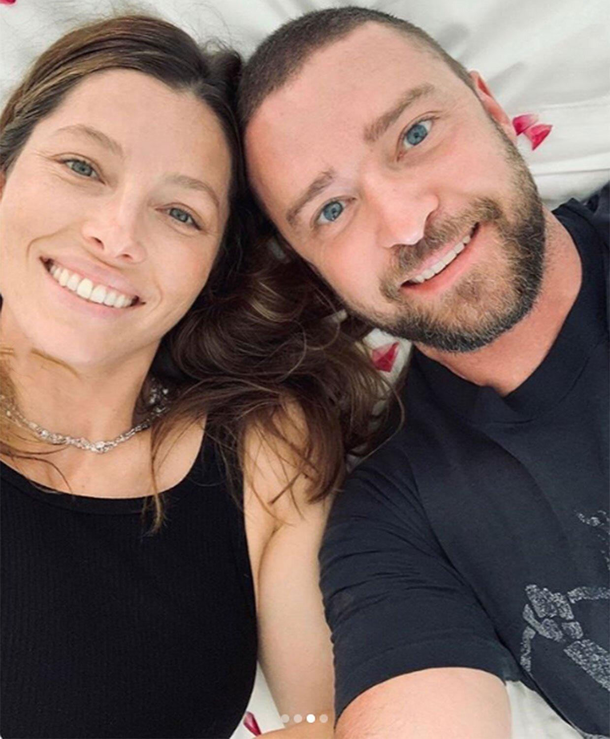 Justin Timberlake Wishes Wife Jessica Biel A Happy Mother
