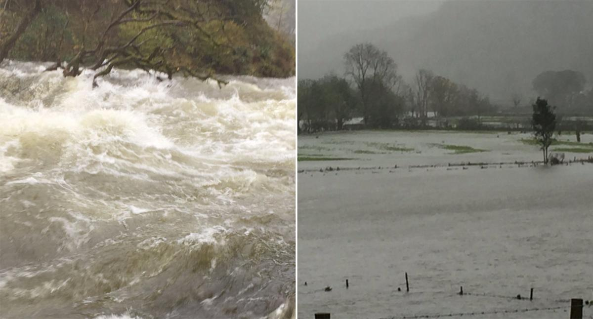 Flood warnings for Cumbria as communities brace for a month's rain in 24 hours