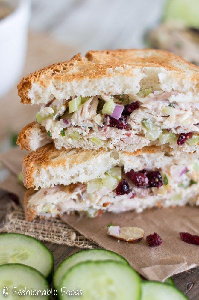 """<p>For a post-Thanksgiving lunch, put that leftover bird to good use in this turkey-filled take on a chicken salad sandwich.</p><p><strong>Get the recipe at <a href=""""http://fashionablefoods.com/2016/11/23/leftover-turkey-cranberry-almond-salad/"""" rel=""""nofollow noopener"""" target=""""_blank"""" data-ylk=""""slk:Fashionable Foods"""" class=""""link rapid-noclick-resp"""">Fashionable Foods</a>. </strong> </p>"""