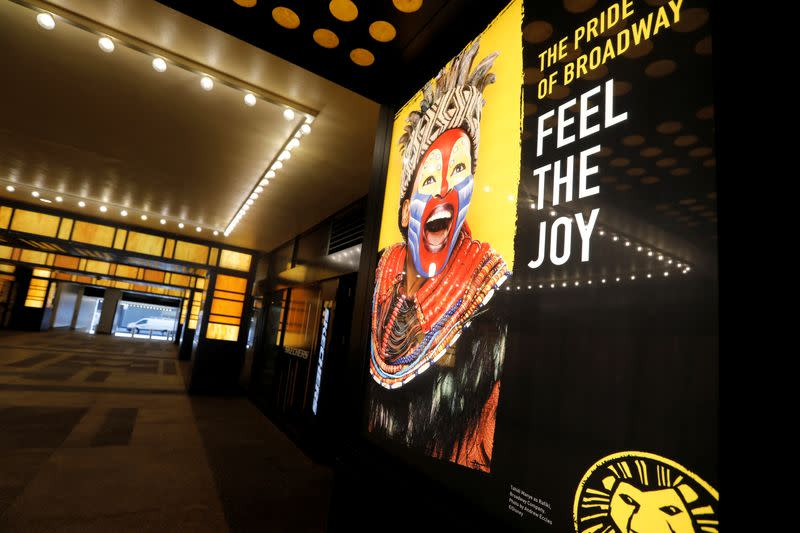 Broadway theaters sound alarm as closure extended through May 2021
